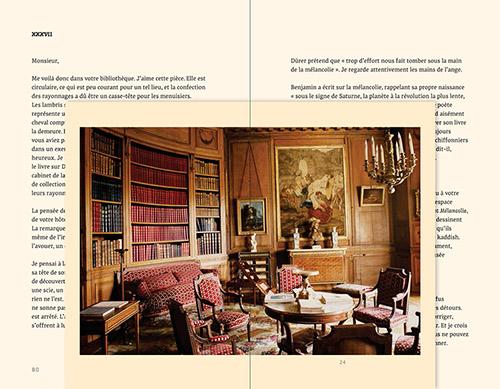 Double page Lettres à Camondo d'Edmund de Waal aux Éditions Les Arts Décoratifs