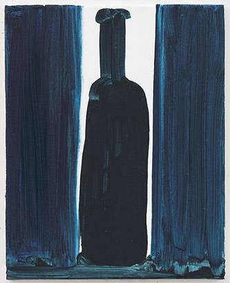 Marlene Dumas, Bottle, 2020. Oil on canvas, 50 x 40 cm. Courtesy Marlene Dumas. Photo : © Peter Cox, Eindhoven.