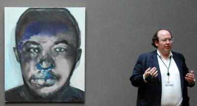 Interview de Donatien Grau, conseiller pour les programmes contemporains au musée d'Orsay, par Anne-Frédérique Fer, à Paris, le 11 octobre 2021, durée 8'40. © FranceFineArt.