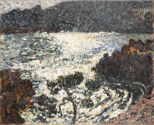Louis Valtat (1869-1952), Nocturne (Effet de lune), Vers 1900-1901. Huile sur toile, 65,5 x 81 cm. Collection particulière Photo © musée d'Orsay / Patrice Schmidt.