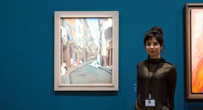 Interview de Charlotte Hellman, responsable des archives Signac et co-commissaire de l'exposition, par Anne-Frédérique Fer, à Paris, le 11 octobre 2021, durée 11'59. © FranceFineArt.