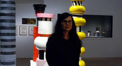 Interview de Marie-Ange Brayer, conservatrice, cheffe du service Design et prospective industrielle et commissaire de l'exposition, par Anne-Frédérique Fer, à Paris, le 12 octobre 2021, durée 17'17. © FranceFineArt.