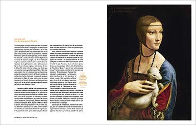 """""""Léonard de Vinci. Animal"""" Armelle Fémelat//Léonard de Vinci. Animal de Armelle Fémelat aux Éditions Volare, double page 56-57. © éditions-volare."""