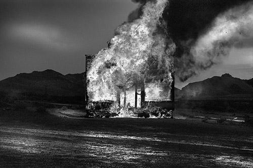 Philippe Ciaparra, Rhyolite, Nevada, Etats-Unis, Automne 2014. © Philippe Ciaparra.