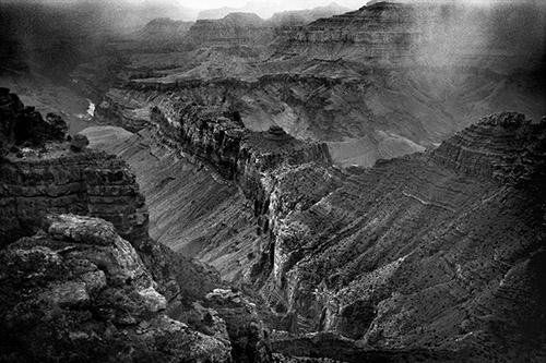 Philippe Ciaparra, Grand Canyon, Arizona, Etats-Unis, Hiver 2017. © Philippe Ciaparra.