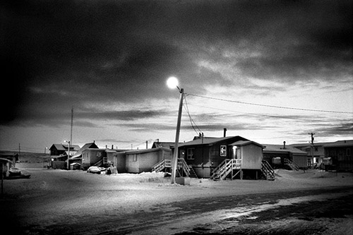 Philippe Ciaparra, Tuktoyaktuk, Territoires du Nord-Ouest, Canada, Hiver 2017.© Philippe Ciaparra.