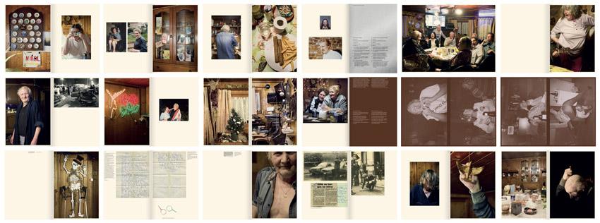 Aperçu du livre Hernie & Plume 2013 – 2020 de Katherine Longly aux éditions The Eriskay Connection, graphisme Rob van Hoesen. © Katherine Longly. © éditions The Eriskay Connection.