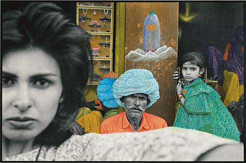 Pamela Singh, Carte au trésor 022, 1994-1995, peinte en 2015. Courtesy © Pamela Singh and sepiaEYE.