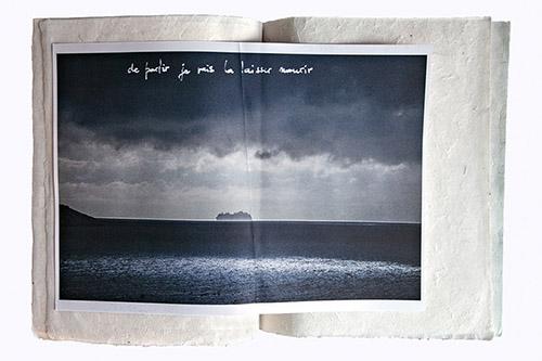 Michaël Serfaty, De partir je vais la laisser mourir. © Michaël Serfaty - agence révélateur.