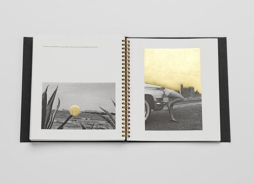 Double page de Jamais je ne t'oublierai de CarolleBénitah aux éditions L'Artière. © Carolle Bénitah. © éditions L'Artière 2019.