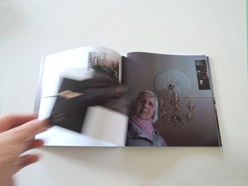 Double page Apres, on oubie de Bruno Dubreuil et de Claire Jolin. © Bruno Dubreuil. © Editions Orange Claire 2020.