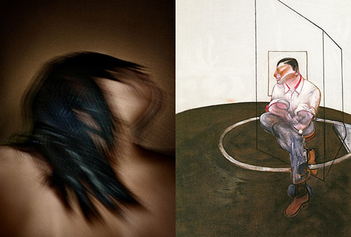 © Antoine d'Agata, São Paulo, 2009. © Francis Bacon, Etude pour un portrait de John Edwards, lithographie, 1986.