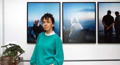 PODCAST -Interview de Aglaé Bory, par Anne-Frédérique Fer, à Bagnolet, le 4 mars 2021, durée 18'57. © FranceFineArt.