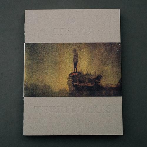 Couverture Les doutes d'Arno Brignon - collection Terre et Territoires, co-édition Zone i et Editions Filigranes.