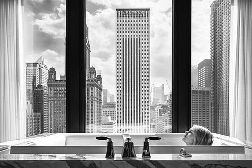 Olivier Culmann, Chicago, avril 2015. © Tendance Floue.