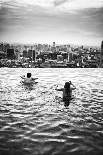 Olivier Culmann, Singapour, avril 2014. © Tendance Floue.