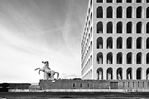 Patrick Tourneboeuf, Rome, avril 2015. © Tendance Floue.