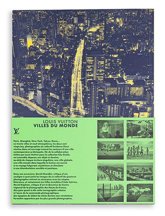 Couverture Villes du monde, photographies du collectif Tendance Floue aux éditions Louis Vuitton. © Tendance Floue. © éditions Louis Vuitton.