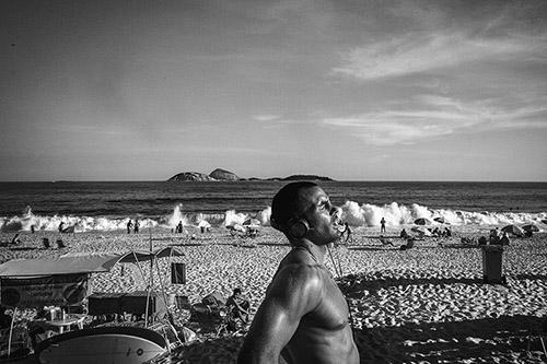 Denis Bourges, Rio de Janeiro, avril 2014. © Tendance Floue.