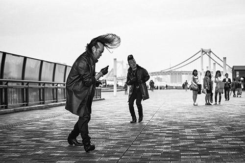 Mat Jacob, Tokyo, avril 2015. © Tendance Floue.