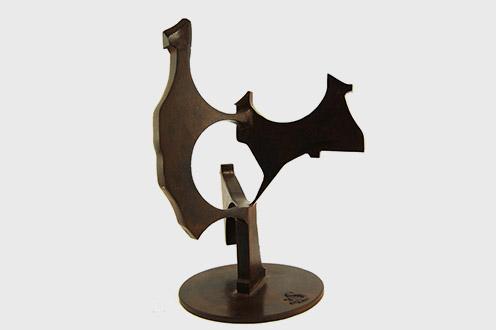 """🔊 """"La musique du fer"""", Sculptures de Denis Schmitt, du 29 mai au 17 juillet 2014"""