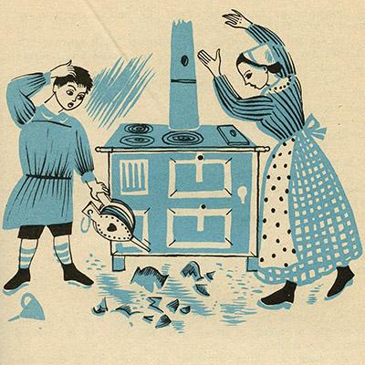 """""""le petit sou du samedi"""" manuel scolaire (1956), texte Pierre Menanteau, illustrations José et Jean-Marie Granier"""