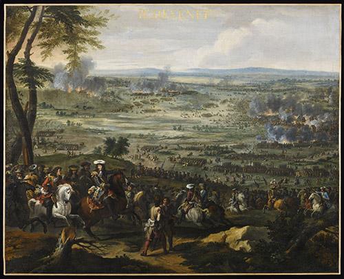 Adam Frans Van der Meulen (1632-1690), Bataille de Seneffe, 1674. © Paris - Musée de l'Armée, Dist. RMN-Grand Palais / Émilie Cambier.