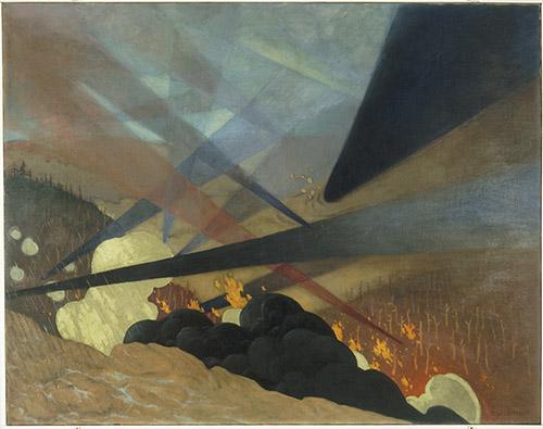 Félix Vallotton (1864-1925), Verdun. © Paris - Musée de l'Armée, Dist. RMN-Grand Palais