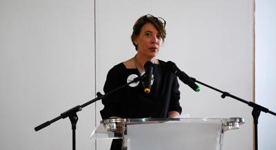 PODCAST - Interview de Marion Laporte, responsable de l'Ecole Pro du Centre Pompidou, par Anne-Frédérique Fer, à Paris, le 23 mai 2018, durée 6'36. © FranceFineArt.
