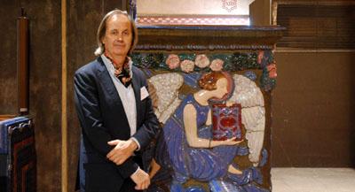 PODCAST - Interview de Pierre Antoine Gatier, architecte en chef des monuments historiques, par Anne-Frédérique Fer, à Vincennes, le 11 octobre 2018, durée 11'00. © FranceFineArt.