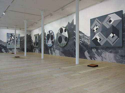 """Zhao Yao, """"精神⾼高于⼀一切 Spirit Above All"""". Exhibition View 2013 PaceLonden."""