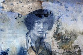 Sophie Zénon, ROSA MARCHETTI (DANS LE MIROIR DES RIZIÈRES), 2016. Format 30 x 45 cm. Tirage fine art sur papier baryté. © Sophie Zénon.