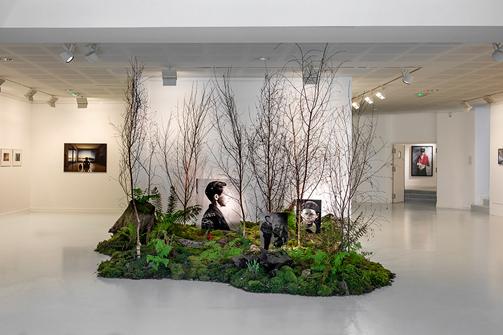 """Sophie Zénon, Vue de l'exposition """"Ce que murmurent les fantômes"""" - Galerie L'Imagerie – Lannion du 13 avril au 08 juin 2019. © Sophie Zénon."""