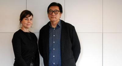 """Interview de Yvon Chu, vice-président de la Fondation CHU Teh-Chun, et de Anne-Valérie Sceau, Directrice générale de la Fondation CHU Teh-Chun, par Anne-Frédérique Fer, à Paris, le 23 janvier 2020, durée 18'58"""". © FranceFineArt."""