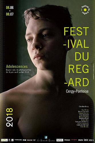 Affiche – 3e édition du Festival du Regard – 2018 - Adolescences