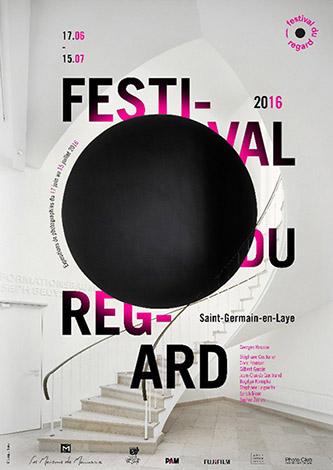Affiche – 2e édition du Festival du Regard – 2016