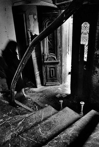 Sladjana Stankovic, extrait du livre Aménagements successifs du noir aux éditions Rue du bouquet. © Sladjana Stankovic.
