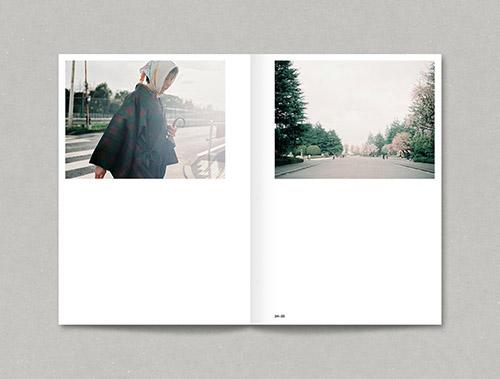 Double page de Japon de Yann Audic aux éditions Rue du bouquet. © Yann Audic. © Rue du bouquet 2016.
