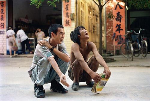 Zheng Guogu, Me and My teacher, 1993. Chromogenic print. Collection Zhao Youhou.