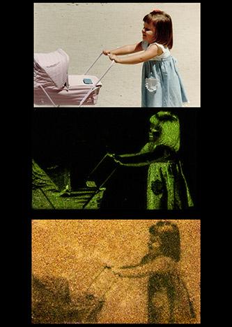 Almudena Romero, The Pigment Change, série Family album. © Almudena Romero / Résidence BMW.