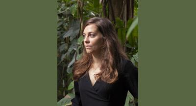 PODCAST - Interview de Almudena Romero, par Anne-Frédérique Fer, enregistrement réalisé par téléphone, entre Paris et Londres, le 3 février 2021, durée 29'35. © FranceFineArt. (photographie © Nicolas Jenot)