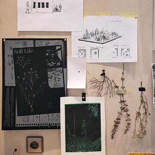 Louise vendel, vue de l'atelier #35. © FranceFineArt.com