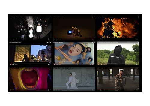 Gilbert Princesse (France) - Atlas - clips et politique / Installation interactive.