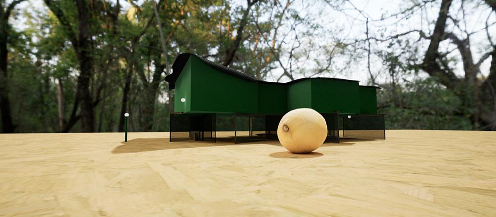 Projet de Jean-Pascal Flavien, Greenhouse - States of Mind, présenté à Fabre du 22 novembre 2019 au 1er février 2020.