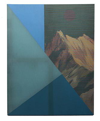 Coraline de Chiara, Ghost, 2021. Oil on canvas, 146x114 cm.