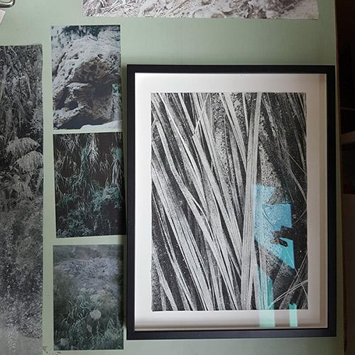 Vue de l'atelier d'Ilanit Illouz. © Anne-Frédérique Fer / FranceFineArt.com.